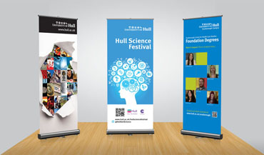 Pull-Up Banners.